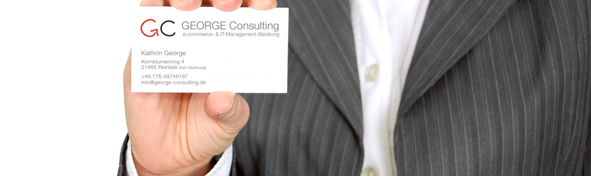 GEORGE Consulting - E-commerce-Beratung + IT-Management-Beratung